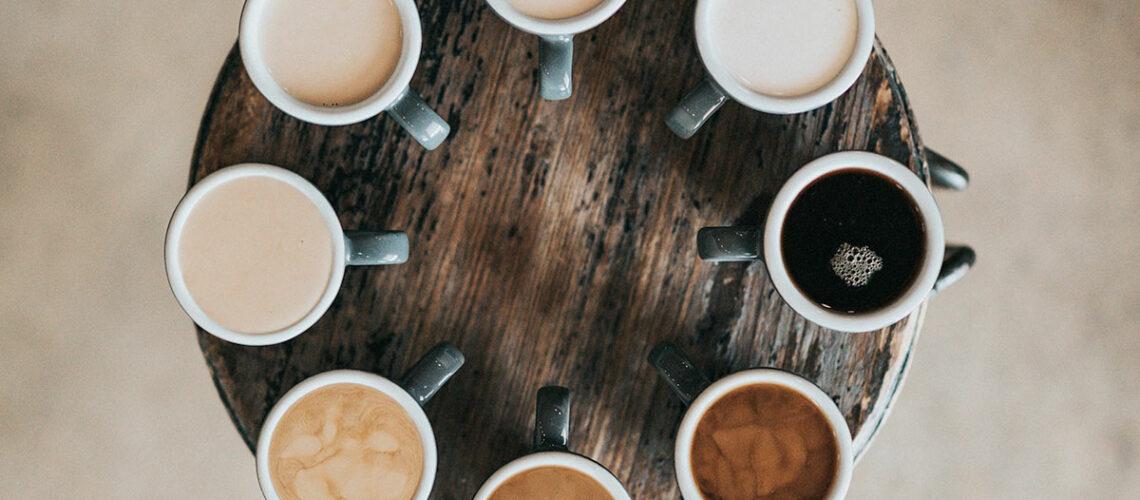 Remplacer le lait dans le café par des laits végétaux